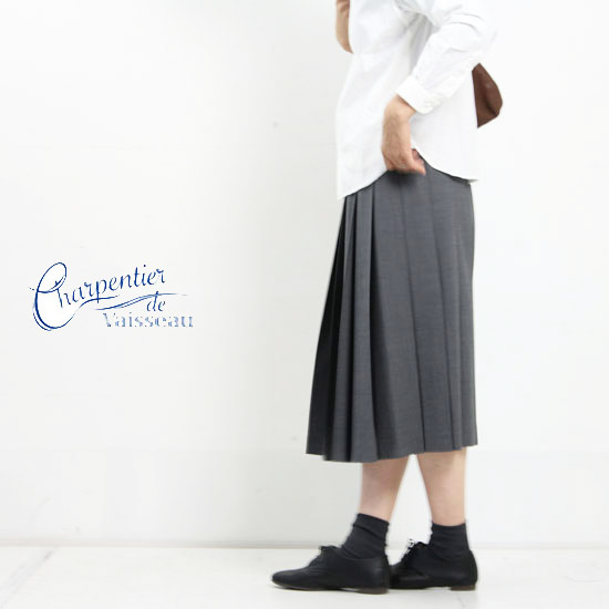 Charpentier de Vaisseau(シャルパンティエ ドゥ ヴェッソ) Pleated Skirt