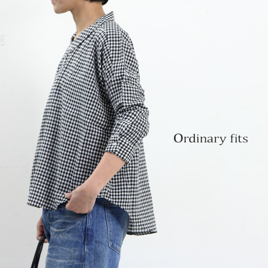 Ordinary Fits (オーディナリーフィッツ) BARBER SHIRT