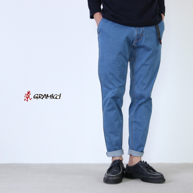GRAMICCI (グラミチ) LT DENIM SLIM PANTS