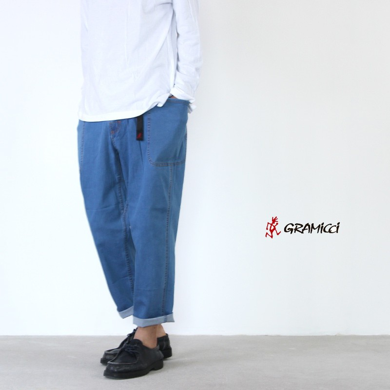GRAMICCI (グラミチ) LT DENIM LOOSE PANTS