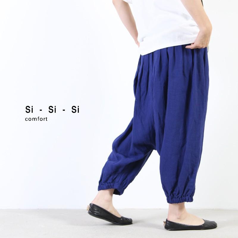 si-si-si (スースースー) リネン2WAYタイパンツ