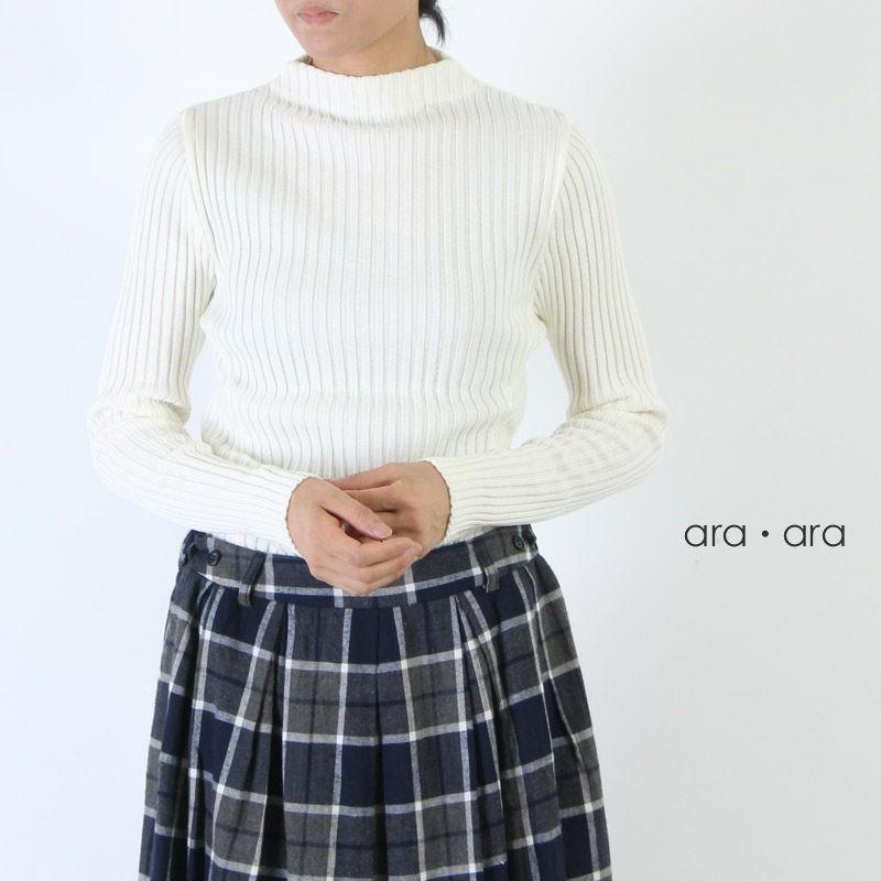 ara・ara(アラアラ) ボトルネックニットプルオーバー