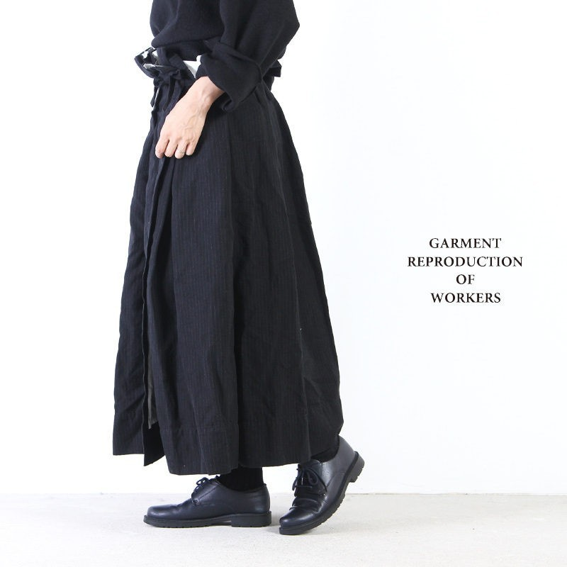 GARMENT REPRODUCTION OF WORKERS (ガーメントリプロダクションオブワーカーズ) PRIMITIVE FARMERS SKIRT