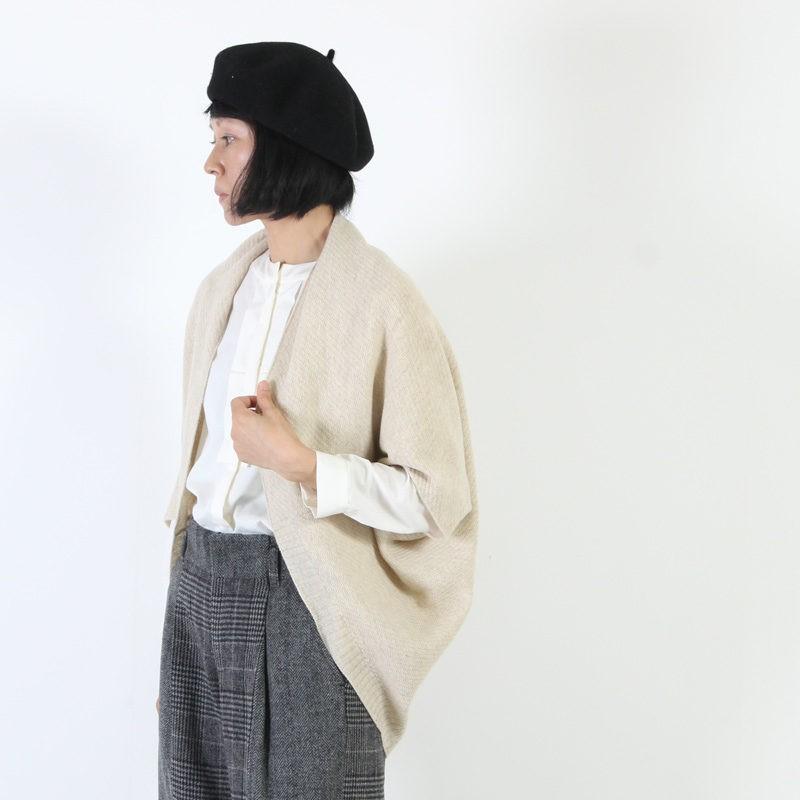 evameva (エヴァムエヴァ) wool cashmere bolero