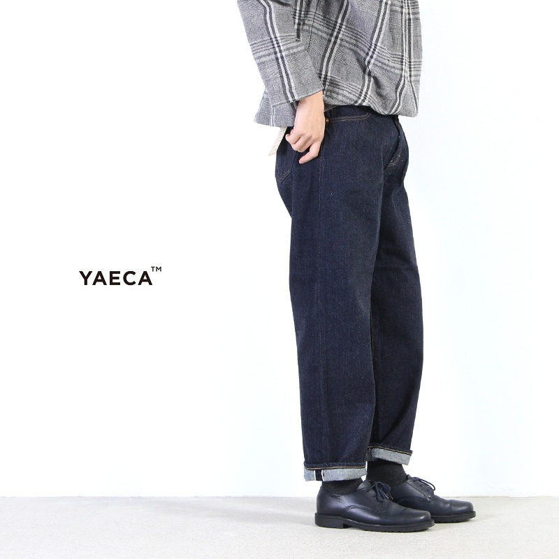 YAECA(ヤエカ) DENIM PANTS WIDE STRAIGHT